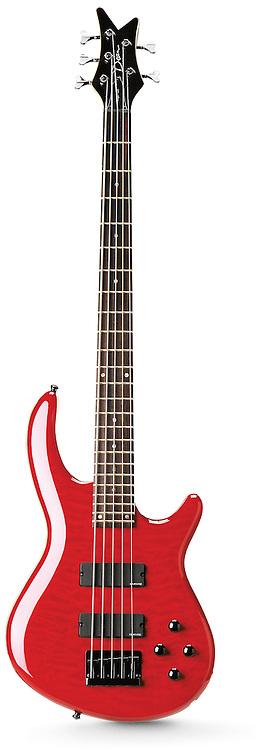 Dean five string electric guitar