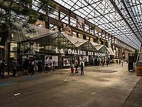 Le Voyage a Nantes 2017.<br /> 5eme edition. La ville renversee par l'Art.<br /> En suivant la ligne verte, le parcours en centre ville est long de 12 km et comporte 54 etapes.<br /> Les machines de l'ile.