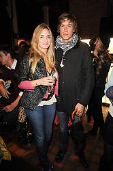 PRINCESS MARIA THURN & TAXIS her boyfriend HUGO WILSON at the Launch of Peroni Nastro Azzurro Accademia del Film Wrap Party Tour held atThe Boiler House, 152 Brick Lane, London E1 on 25th August 2010.
