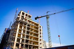 Flats in Quartermile, Lauriston, Edinburgh under construction<br /> <br /> (c) Andrew Wilson | Edinburgh Elite media