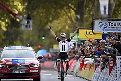 October 7, 2018 - Tours, France - Tours, France - October 7 : ANDERSEN Soren Kragh of Team Sunweb during the 112th edition of the Paris - Tours Elite cycling race with start in Chartres and finish in Tours on October 7, 2018 in Tours, France, 07/10/2018 (Credit Image: © Panoramic via ZUMA Press)