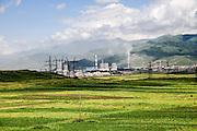 Industrial zone near Halidzor, Armenia