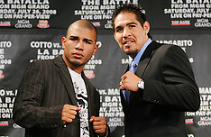 May 22, 2008: Antonio Margarito vs Miguel Cotto Press Conference
