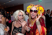 JAIME WINSTONE; KATRINE BOORMAN, The after-party after the premiere of Duncan WardÕs  film ÔBoogie WoogieÕ ( based on the book by Danny Moynihan). Westbury Hotel. Conduit St. London.  13 April 2010