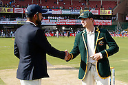 Cricket - India v Australia 2nd Test D1 at Bangalore