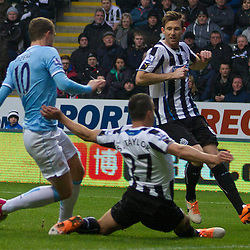 Newcastle United v Manchester City | Premiership | 12 January 2014