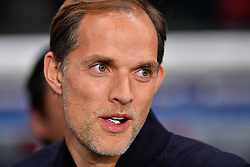 November 2, 2018 - Paris, Ile-de-France, France - Thomas Tuchel,head coach of Paris Saint Germain (PSG)  during the french Ligue 1 match between Paris Saint-Germain (PSG) and Lille (LOSC) at Parc des Princes stadium on November 2, 2018 in Paris, France. (Credit Image: © Julien Mattia/NurPhoto via ZUMA Press)