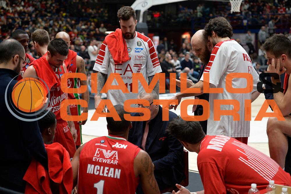 Olimpia EA7 Emporio Armani Milano<br /> Olimpia EA7 Emporio Armani Milano vs Basket Leonessa Brescia<br /> Lega A 2016/2017<br /> Milano 12/02/2017<br /> Foto Ciamillo-Castoria