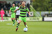 Forest Green Rovers Marcus Kelly (10) runs with the ball during the Vanarama National League match between Forest Green Rovers and Bromley FC at the New Lawn, Forest Green, United Kingdom on 17 September 2016. Photo by Shane Healey.