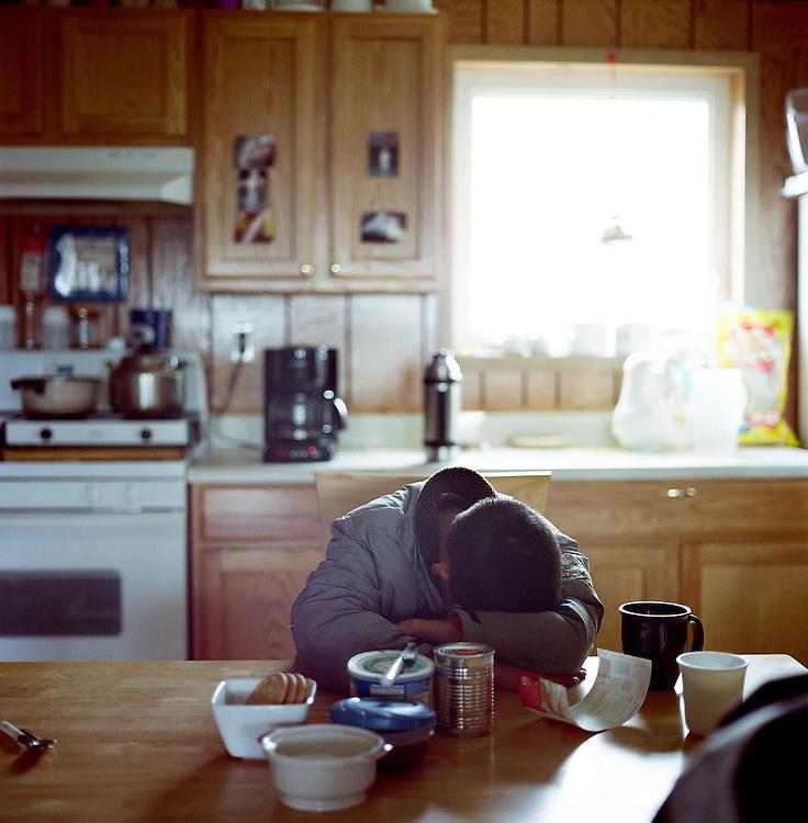 Newtok, Alaska. 2008