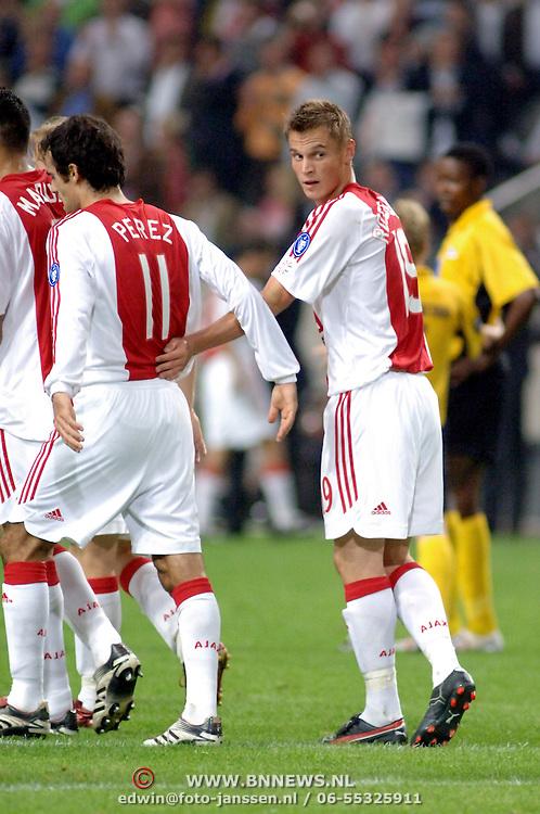 NLD/Amsterdam/20060928 - Voetbal, Uefa Cup voorronde 2006, Ajax - IK Start, Markus Rosenberg