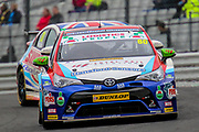 Tom Ingram - Speedworks Motorsport - Toyota Avensis during the Dunlop MSA British Touring Car Championship at Brands Hatch, Fawkham, United Kingdom on 8 April 2018. Picture by Aaron  Lupton.