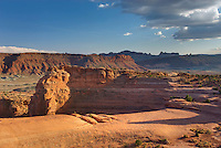 Expanse of slickrock, Arches National Park Utah