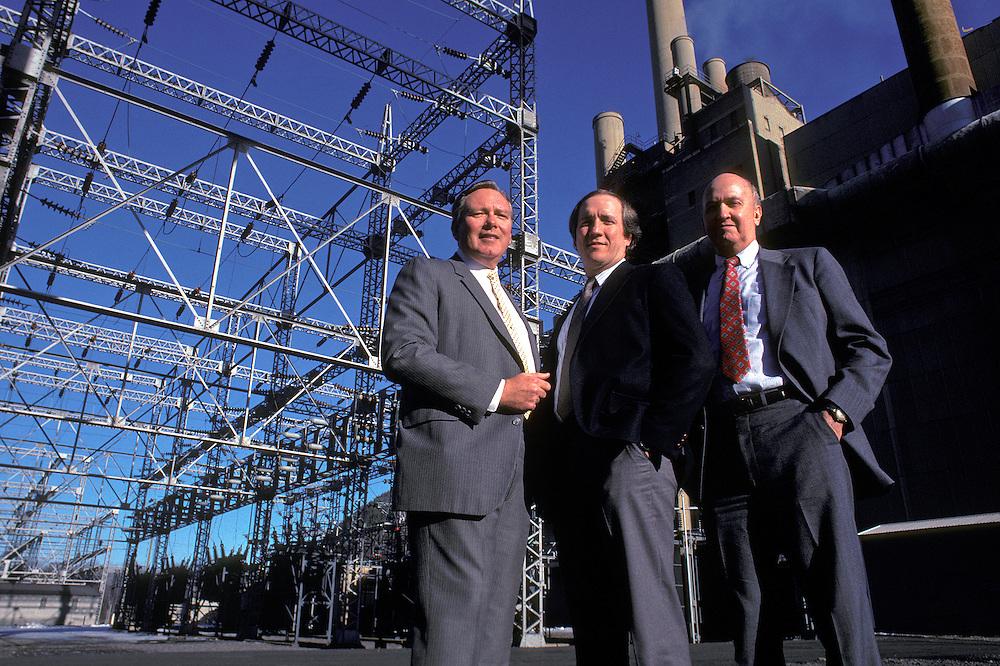 Electric company executives