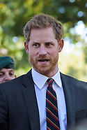 Prince Harry Visits Royal Marines