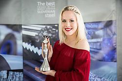 Kaja Bajda, Miss Sporta 2015 during press conference of Slovenian Miss Sports 2016, on May 3, 2016 in Ljubljana, Slovenia. Photo by Vid Ponikvar / Sportida