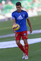 Huelva's player D. Jimenez before the  match between Real Betis and Recreativo de Huelva day 10 of the spanish Adelante League 2014-2015 014-2015 played at the Benito Villamarin stadium of Seville. (PHOTO: CARLOS BOUZA / BOUZA PRESS / ALTER PHOTOS)