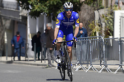 March 15, 2019 - Brignoles, France - BRIGNOLES, FRANCE - MARCH 15 : KEISSE Iljo (BEL) of DECEUNINCK - QUICK - STEP pictured during stage 6 of the 2019 Paris - Nice cycling race with start in Peynier and finish in Brignoles  (176,5 km) on March 15, 2019 in Brignoles, France. (Credit Image: © Panoramic via ZUMA Press)