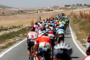 Illustration peloton, Scenery, during the UCI World Tour, Tour of Spain (Vuelta) 2018, Stage 7, Puerto Lumbreras - Pozo Alcon 185,7 km in Spain, on August 31th, 2018 - Photo Luis Angel Gomez / BettiniPhoto / ProSportsImages / DPPI