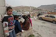 Hamzi is a 9 years old boy who got wounded in the face after he fell down because of the blast of an exploding shell..He makes part of a family of Syrian refugees who arrived exhausted on March 10th, 2012 in the village El Fakha, Lebanon, after a bombardment on March 9th, 2012 which destroyed their house in Zahra.