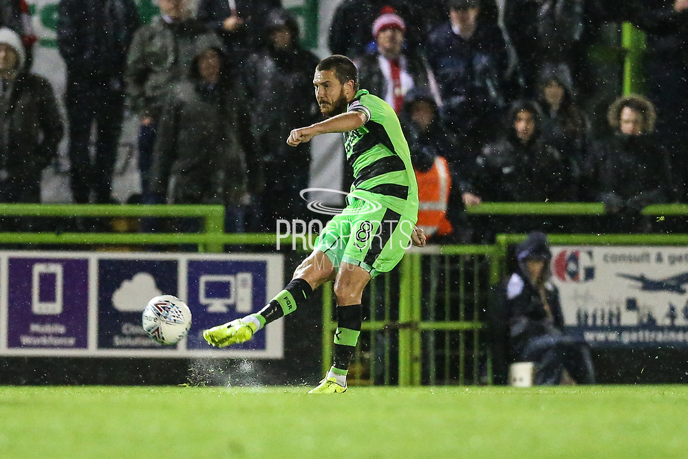 Forest Green Rovers Liam Noble(8) during the EFL Sky Bet League 2 match between Forest Green Rovers and Lincoln City at the New Lawn, Forest Green, United Kingdom on 12 September 2017. Photo by Shane Healey.