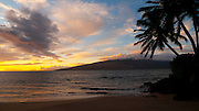 Sunset, Kihei, Maui, Hawaii