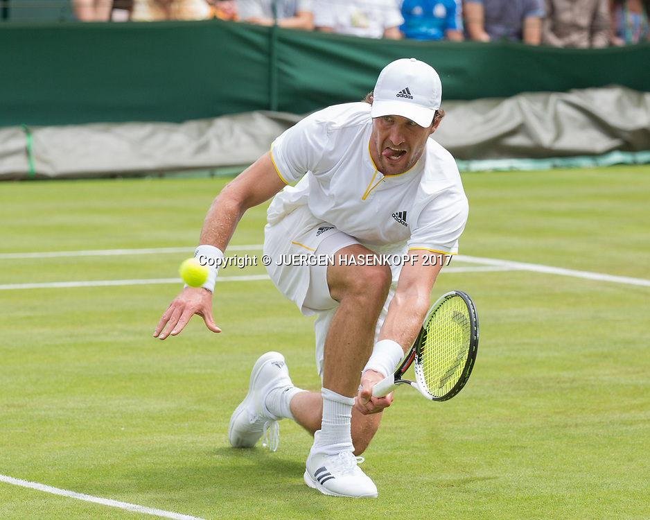 MISCHA ZVEREV (GER)<br /> <br /> Tennis - Wimbledon 2016 - Grand Slam ITF / ATP / WTA -  AELTC - London -  - Great Britain  - 4 July 2017.