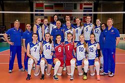 01-04-2017 NED:  CEV U18 Europees Kampioenschap vrouwen dag 1, Arnhem<br /> Rusland - Italie 0-3 / Team Rusland