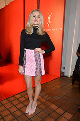 PIXIE LOTT at the YSL Beauty: YSL Loves Your Lips party held at The Boiler House,The Old Truman Brewery, Brick Lane,London on 20th January 2015.