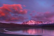 Laguna Amarga, Torres del Paine National Park, Patagonia, Chile.