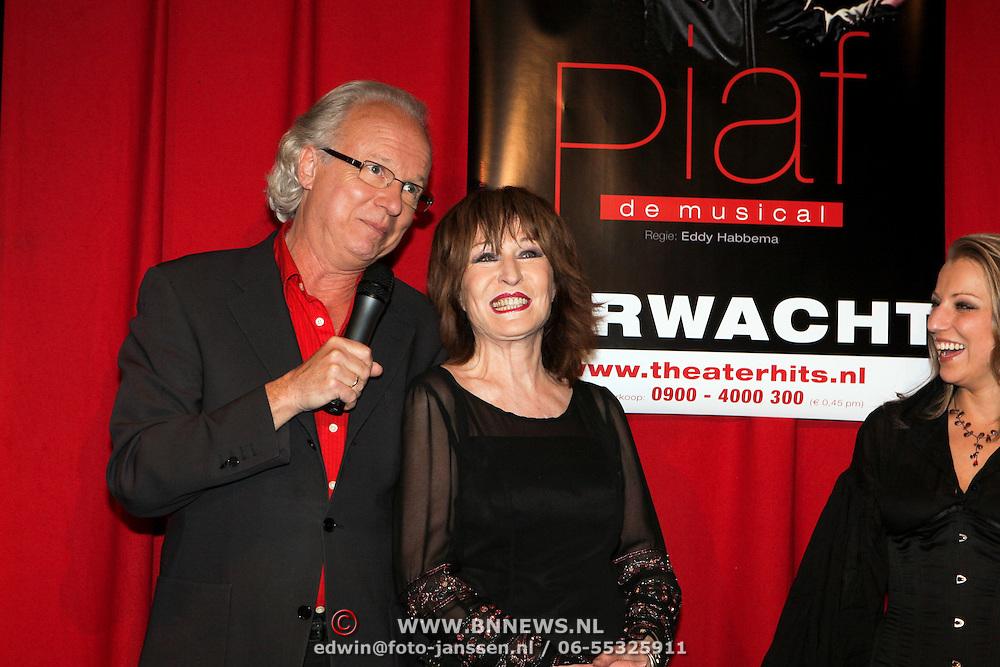 NLD/Amsterdam/20080421 - Castpresentatie musical Piaf, Eddy habbema en Liesbeth List