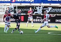 FotballFørstedivisjonTromsø IL vs Kristiansund29.05.2014Kent Are Antonsen, TromsøHans Eriksen Norbye, TromsøAndreas Rødsand, KristiansundFoto: Tom Benjaminsen / Digitalsport