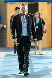 © Licensed to London News Pictures. Birmingham, UK. LORD MICHEAL ASHCROFT at the 2016 Conservative Party Conference. Photo credit: Ben Cawthra/LNP