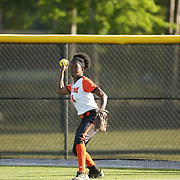180420 AUM vs Christian Brothers Softball action