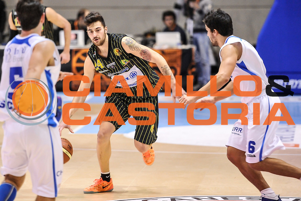 DESCRIZIONE : Final Eight Coppa Italia DNC IG Cup RNB Rimini 2015 Finale Basket Scauri - Alianz San Severo<br /> GIOCATORE : Antonio De Fabritiis<br /> CATEGORIA : Palleggio Penetrazione<br /> SQUADRA : Alianz San Severo<br /> EVENTO : Final Eight Coppa Italia DNC IG Cup RNB Rimini 2015<br /> GARA : Basket Scauri - Alianz San Severo<br /> DATA : 08/03/2015<br /> SPORT : Pallacanestro <br /> AUTORE : Agenzia Ciamillo-Castoria/L.Canu