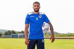 Bristol Rovers Sign Tareiq Holmes-Dennis - Ryan Hiscott/JMP - 19/07/2018 - FOOTBALL - Cribbs Football Club - Bristol, England - Bristol Rovers Sign Tareiq Holmes-Dennis