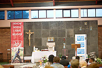St Oliver Plunkett's parish Renmore for the Diocese of Galaway /Trocaire Mass celebrating 40 years of Trocaire's work . Photo:Andrew Downes photography.