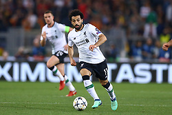 May 2, 2018 - Rome, Lazio, Italy - AS Roma v FC Liverpool - Champions League semi-final second leg.Mohamed Salah of Liverpool at Olimpico Stadium in Rome, Italy on May 02, 2018. (Credit Image: © Matteo Ciambelli/NurPhoto via ZUMA Press)