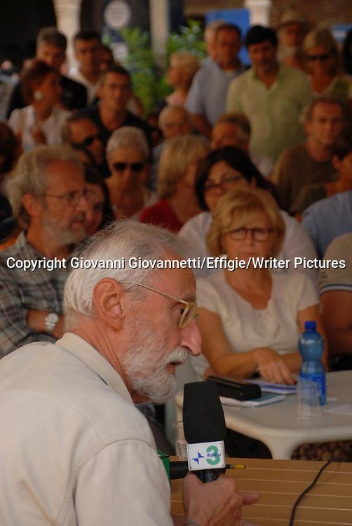 Antonio Moresco, Festivaletteratura, Mantova <br /> 08 September 2013<br /> <br /> Photograph by Giovanni Giovannetti/Effigie/Writer Pictures <br /> <br /> NO ITALY, NO AGENCY SALES