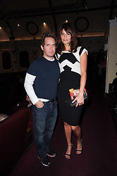 TOM HOLLANDER and HELENA CHRISTENSEN at a screening of the short film 'Away We Stay' directed by Edoardo Ponti held at The Electric Cinema, Portobello Road, London W1 on 15th November 2010.