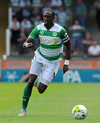 Nathan Smith of Yeovil Town - Photo mandatory by-line: Harry Trump/JMP - Mobile: 07966 386802 - 22/08/15 - SPORT - FOOTBALL - Sky Bet League Two - Yeovil Town v Luton Town - Huish Park, Yeovil, England.