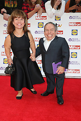 Warwick Davis, Pride of Britain Awards, Grosvenor House Hotel, London UK. 28 September, Photo by Richard Goldschmidt /LNP © London News Pictures