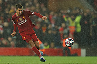 Football - 2019 / 2020 UEFA Champions League - Round of Sixteen, Second Leg: Liverpool (0) vs. Atletico Madrid (1)<br /> <br /> Liverpool's Roberto Firmino in action during todays match  , at Anfield.<br /> <br /> <br /> COLORSPORT/TERRY DONNELLY