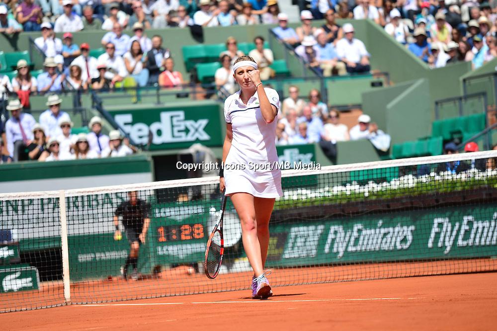 Timea BACSINSZKY - 03.06.2015 - Jour 11 - Roland Garros 2015 <br />Photo : Dave Winter / Icon Sport
