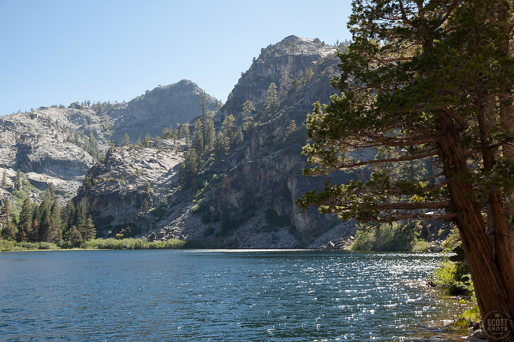 """""""Eagle Lake 2"""" - Photograph of Eagle Lake in the Tahoe Desolation Wilderness."""