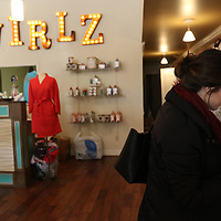 Kacie Scott came to Shop Small at Swirlz during the Small Business Saturday organized by the Downtown Main St. Association