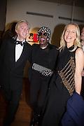 PHILIP TREACY; GRACE JONES; ALANNAH WESTON;, Isabella Blow: Fashion Galore! private view, Somerset House. London. 19 November 2013