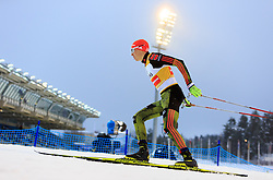19.02.2016, Salpausselkae Stadion, Lahti, FIN, FIS Weltcup Nordische Kombination, Lahti, Langlauf, im Bild Eric Frenzel (GER) // Eric Frenzel of Germany competes during Cross Country Gundersen Race of FIS Nordic Combined World Cup, Lahti Ski Games at the Salpausselkae Stadium in Lahti, Finland on 2016/02/19. EXPA Pictures © 2016, PhotoCredit: EXPA/ JFK