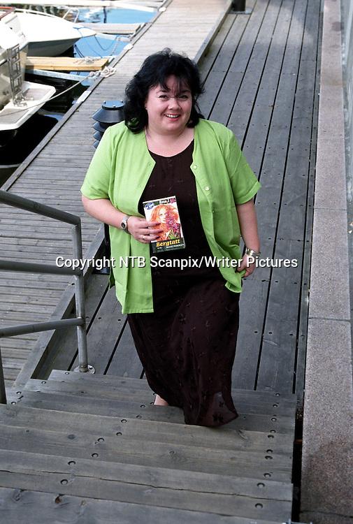 Oslo 19970707<br /> Forfatter Bente Pedersen kommer ut med ny serie&quot;kiosklitteratur&quot; med navnet &quot;Rosa&quot;.<br /> Foto: Tor Richardsen / Scanpix<br /> <br /> NTB Scanpix/Writer Pictures<br /> <br /> WORLD RIGHTS, DIRECT SALES ONLY, NO AGENCY