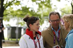 SPREHE Kristina (GER), Hans-Heinrich Meyer zu Strohen<br /> London - Olympische Spiele 2012<br /> <br /> Dressur Grand Prix de Dressage<br /> © www.sportfotos-lafrentz.de/Stefan Lafrentz